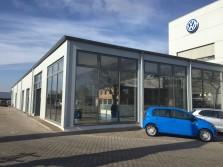 Erweiterung VW Autohaus